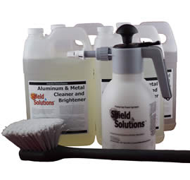 Aluminum and Metal Cleaner Standard Cleaning Kit